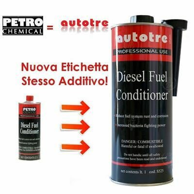 *FRP* 1Lt. ADDITIVO GASOLIO PULITORE INIETTORI diesel conditioner PETRO CHEMICAL