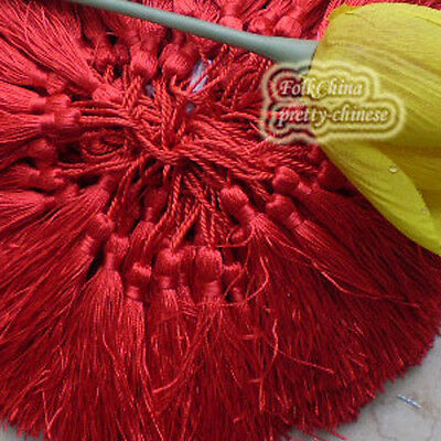 Red 12cm Tassel Craft Sewing Curtains Trimming Embellishment T4