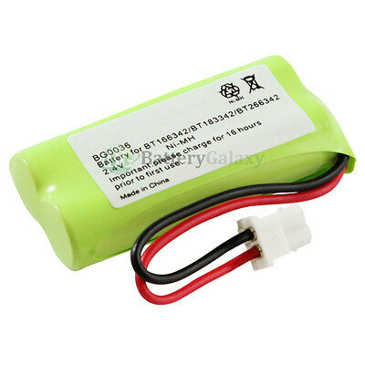 New Cordless Home Phone Battery Pack for AT&T BT166342 BT266342 TL32100 TL90070