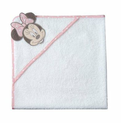 Disney Minnie Mouse Bedroom Collection Baby's Bath Towel / Cuddle Robe NEW 17278