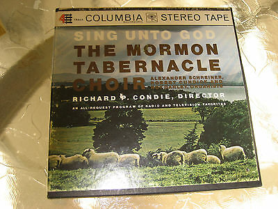 "Sing Unto God The Mormon Tabernacle Choir 7"" Reel to Reel 4 Track"