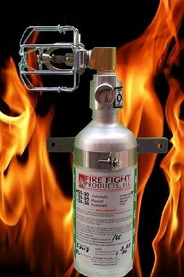 Halon SS-30 Fire extinguisher Automatically Deploy 90 degree head