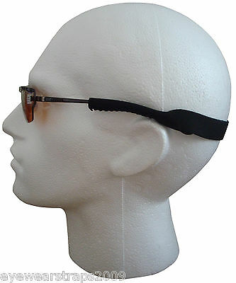 NEW Black Neoprene Sunglasses / Glasses Safety Head Band Strap Cord ..UK STOCK