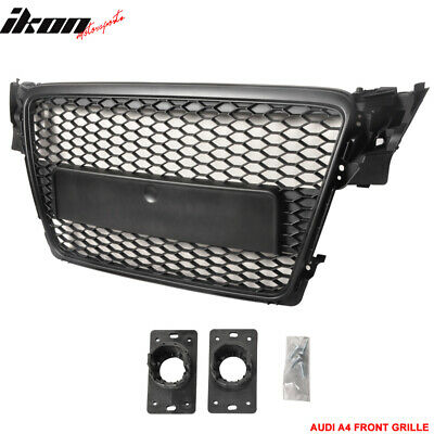 09-11 Audi A4 B8 RS Mesh Black Front Hood Grille Grill