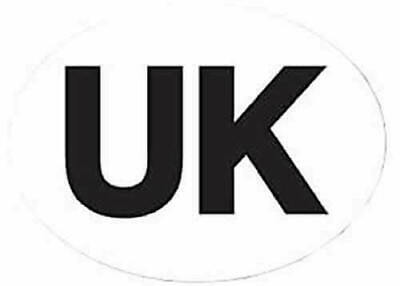 Aa Gb Sticker Great Britain Magnet Magnetic Plate Badge Oval Travel Abroad