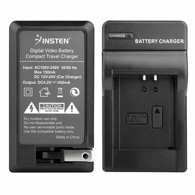 Battery Charger for Canon NB-11L PowerShot A2300 A2400 A2500 A2600 A3400 IS