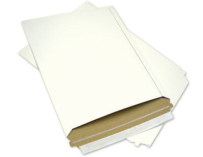 50 11X13.5 Rigid Photo  Mailers Paper Board Envelopes W/ Expedited Shipping