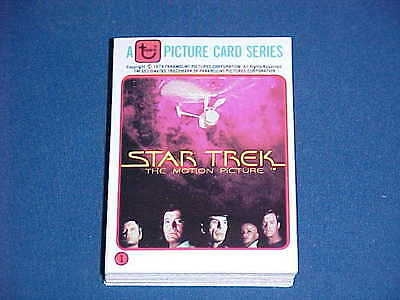 1979 Complete Set Star Trek Motion Picture Rainbo Bread Promo Topps Cards