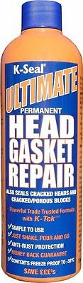 K Seal Ultimate Permanent Blown Head Gasket Cracked Heads & Blocks Leak Repair