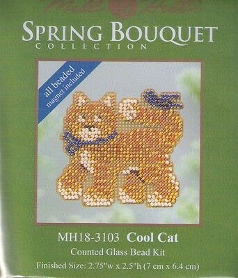 Happy Camper Trailer Glass Bead Kit /& Treasure by Mill Hill w// Magnet