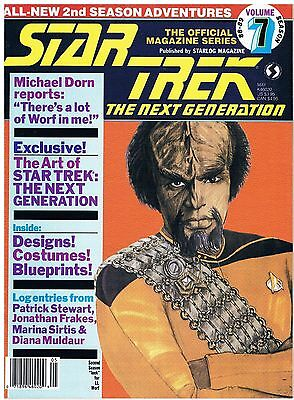 Star Trek The Next Generation The Official Magazine Series No.7 / 1989
