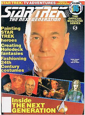 Star Trek The Next Generation The Official Magazine Series No.16 / 1991