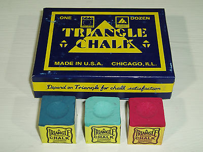 4 x PIECES OF TRIANGLE CHALK AVAILABLE IN VARIOUS COLOURS
