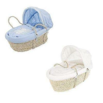 Obaby B is for Bear Baby Moses Basket (Various Colour)
