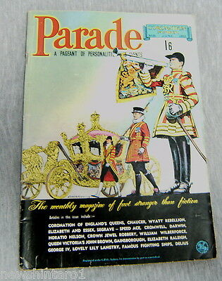Australian Parade Magazine #31  June  1953, Coronation Issue