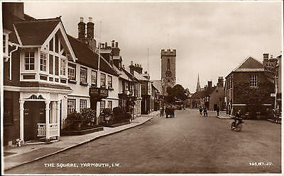 Yarmouth, Isle of Wight. The Square # 203187 by Balentine's.