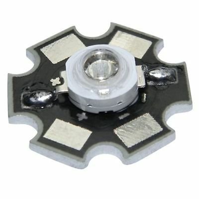 1x HighPower Led 1 Watt auf Star Platine 350mA 1 W Hochleistungs Chip High-Power