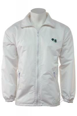 Bowls Lawn Bowling Mesh Lined Waterproof Hood Jacket With Logo