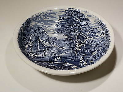 "SCENIC JAMES KENT 11"" LOW BOWL BLUE TRANSFER VERY NICE CONDITION"