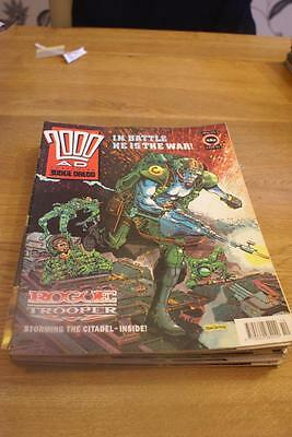 2000 A.D. featuring Judge Dredd number 721 March 9, 1991