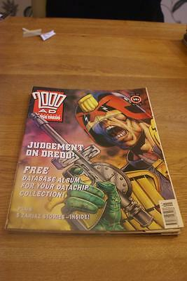 2000 A.D. featuring Judge Dredd number 752 October 12, 1991