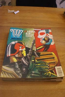2000 A.D. featuring Judge Dredd number 720 March 2, 1991