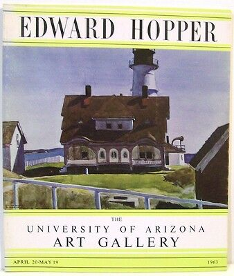 Edward Hopper: A Retrospective Exhibition of Oils and Watercolors   1963