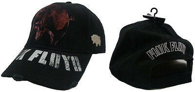 Pink Floyd: Animals Flying Pig Distressed Logo Adjustable Cap - New With Tag