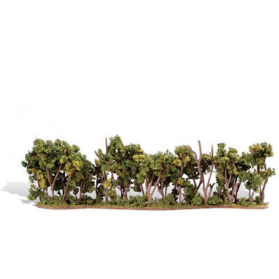 NEW Woodland Scenics Hedge Row 1  - 4  TR3582
