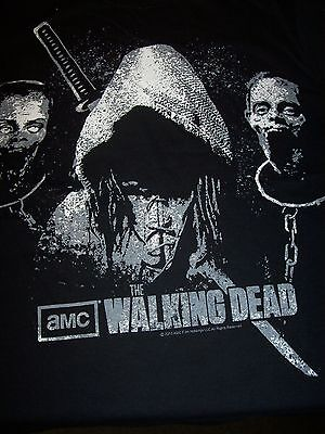 The Walking Dead Micheone Zombie Heads  100% Licensed Official T-Shirt New !