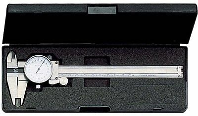 """New 6"""" Stainless Steel DIAL Caliper SAE Only - Shock Proof US FAST FREE SHIPPING"""