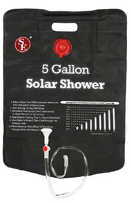 """Portable 5 Gallon Solar Shower 2-3/4"""" x 16-1/2"""" Camping Ourdoor Traveling #CSS5G"""