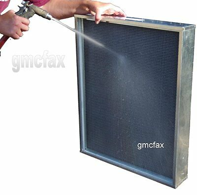 3, 4, 5 and 6 inch thick washable filters - Replace expensive media filters