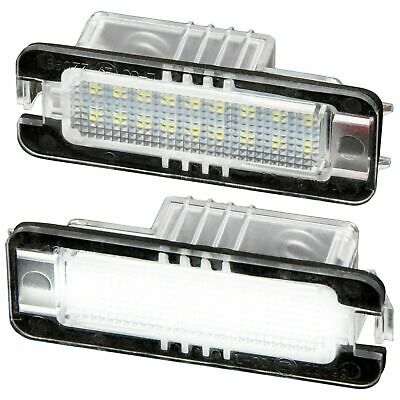 TOP LED Kennzeichenbeleuchtung VW Golf4 5 6 Passat 3C Lupo Polo 9N Scirocco 7401