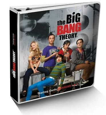 Big Bang Theory Platinum Trading Card Binder with Christine Baranski Autograph