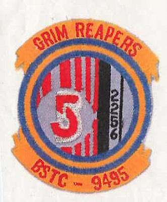 B5  Babylon 5 Grim Reapers Embroidered Squadron Patch