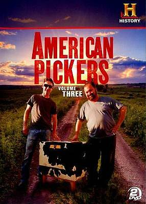 American Pickers ~ Complete 3rd Third Volume 3 Three ~ BRAND NEW 2-DISC DVD SET