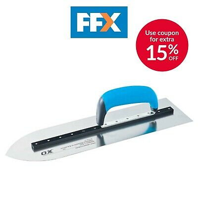 Ox Tools P018716 Pro Pointed Flooring Trowel 16in
