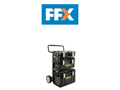 DeWalt DEW170349 Toughsystem Trolley + Boxes 1-70-349