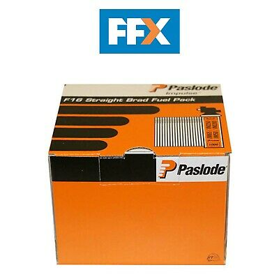 Paslode 921591 16 G x 50mm Galv Brad Fuel Pack (2000 per box + 2 fuel cells)