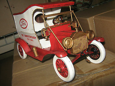 Old Ford 100th Anniversary Car Model