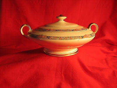 K. T. & K. China Round  Covered Serving Bowl