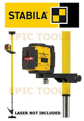 STABILA LT30 Telescopic Adjustable Self Leveling Laser Mounting Support Bar/Pole