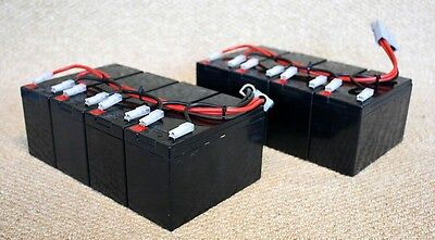 RBC12 battery pack, assembled and ready for use. Brand new cells for APC UPS.