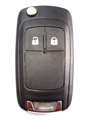 Replacement 2 button flip key case for Vauxhall Opel Corsa Insignia Astra remote