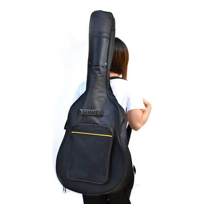 Full Size Acoustic & Classical Guitar Padded Case Bag - By TRIXES