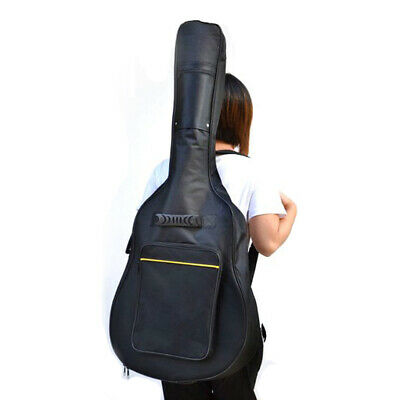 TRIXES Full Size Acoustic & Classical Guitar Padded Case Bag