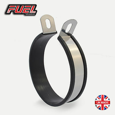 Stainless Round Central Exhaust Mounting Bracket / Hanging Strap / Hanger /Clamp