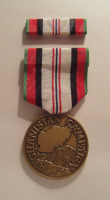 Afghanistan Campaign Military Medal with RIBBON