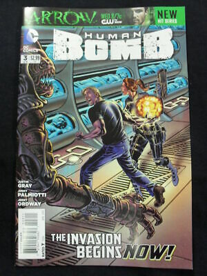 Human Bomb #3 Of 4 Gray & Palmiotti New Series (Dc Comics)